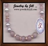 Jewelry by Jill Genuine Rose Quartz with White Cultured Freshwater Pearls (7-8mm semi-round pearls) and Rhinestones Necklace. Order yours at jewelrybyjill.com!
